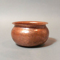 Hand-hammered Roycroft-style Copper Bowl
