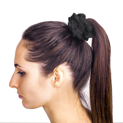 Organic Cotton Hair Scrunchies (5-pack)