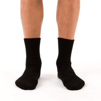 Elastic Free Organic Cotton Socks (Sold in packs of two.)