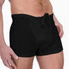 Men's Organic Cotton Elastic Free Drawstring Boxer Brief - S, M, L, XL