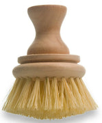 Tampico Bristle Brush with Short Wooden Knob