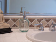 Recycled Glass Liquid Soap Dispenser