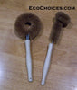 Natural Coir Dish Brush and Jar/Glass Brush