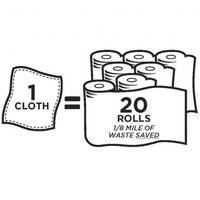 DruaFresh Multi-Use Cloths - 2 cloths per pack