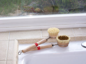 Tampico Kitchen Brush - Vegetable & Dish, and Pots & Pans Options