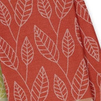 Orange Leaf Organic Cotton Kitchen Towel