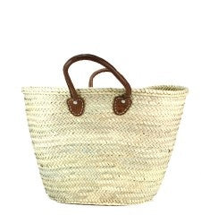 The French Woven Shopping Basket