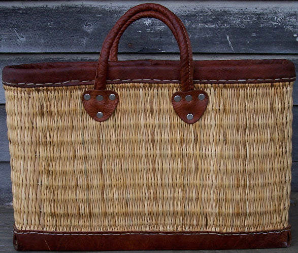 The French Woven Tote