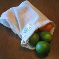 Reusable Cotton Produce Bags - Set of 3