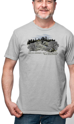 Organic Cotton Unisex Appalachian Trail T-Shirt - S, L