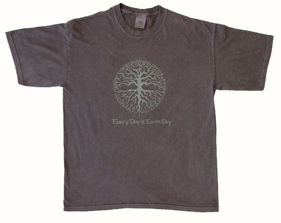 Organic Cotton Unisex Earth Day is Every Day (Roots) T-Shirt - S, L