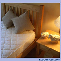 100% Natural Latex Non-Innerspring Mattresses With Organic Cotton & Wool Quilting - Optional Pillowtop