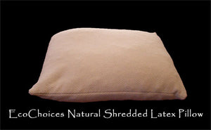 Natural Shredded Latex Pillows