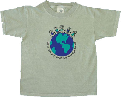 World in Our Hands T-Shirt - Small, Medium or Large