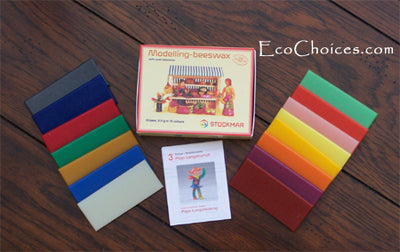 Stockmar Modeling Beeswax - 6 and 15 assorted colors