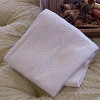 Organic Cotton Chenille Changing Blanket.