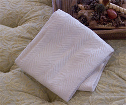 Organic Cotton Soft Chenille Crib Blankets
