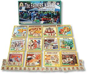 Farmer's Market Board Game