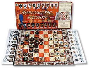 Diplomatic Mission Board Game