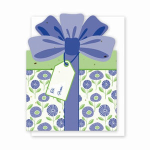 Grow A Note Gift Card Holder - Purple Buds Gift Box Design