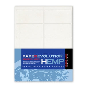 Hemp Adhesive Labels - 100 (2 in x 4 in) Labels Pack - 10 Sheets Per Pack