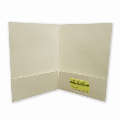 Hemp Paper -  Hemp Presentation Folders - Pack of 5