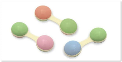 Cornstarch Teether Dumbbell Rattle