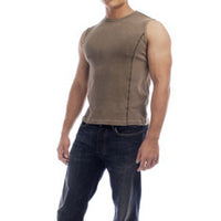 Organic Cotton Muscle Tee - XL