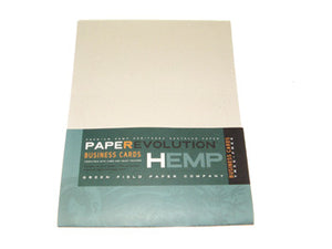 Hemp Paper -  Hemp Business Card Stock - 100 cards