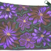 Handmade Embroidered Cotton Coin Purse