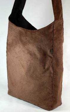 Hemp Corduroy & Organic Cotton Shopping Totes