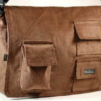 Hemp Corduroy Urban Book Bag