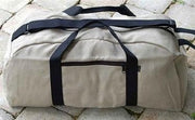 Large Hemp Travel Duffle Bag