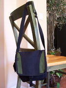 Hemp Two Tone Shoulder Bag