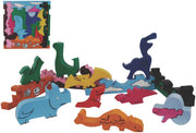 Copy of Copy of Colorful Wooden Puzzles - Dinosaurs Puzzle Play - ages 3+