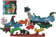 Colorful Wooden Puzzles - Rainforest Puzzle Play - ages 3+