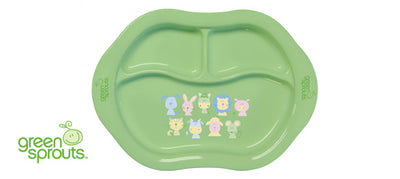 Children's Divided Cornstarch Plate
