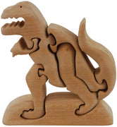 Color Me Up Wooden Puzzle Kits -T-Rex - ages 3+