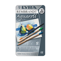 Set of 12 Lyra Rembrandt Aquarelle Pencils (Watercolor Pencils)