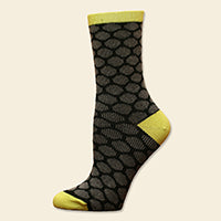 Organic Bee Keeper Dress Socks
