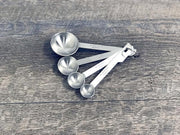 Stainless Steel Measuring Spoons - Set of 4