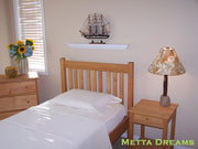 Metta Dreams Organic Cotton Natural Sateen Sheets and Duvet Covers