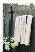 Organic Cotton Soft Velour Terry Poetry Blankets