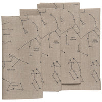Galaxy Linen Napkins - Set of 4