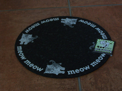 Recycled Rubber Pet Dish Placemats