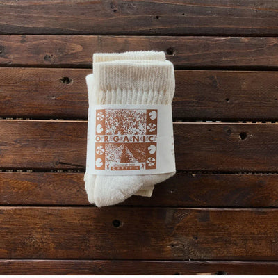 Organic Cotton Short Top Socks - Three Packs
