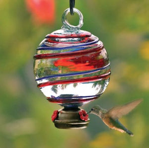 Dew Drop Barbershop Hummingbird Feeder