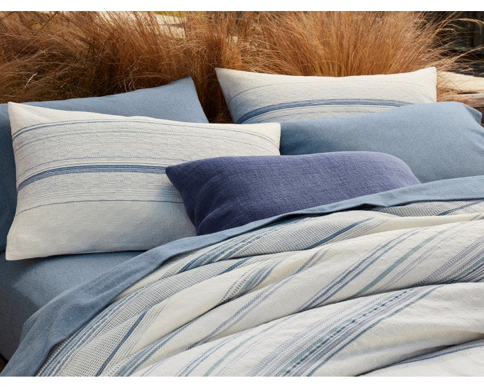 Pacific Grove Organic Duvet Cover - Full/Queen, King and Shams
