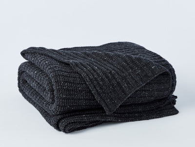 Arroyo Organic Ribbed Throw