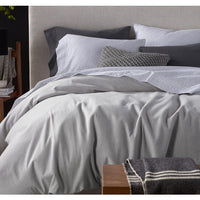 Cloud Brushed Organic Flannel Duvet Cover - Twin, Full/Queen, King, and Shams